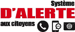 Logo système d'alerte